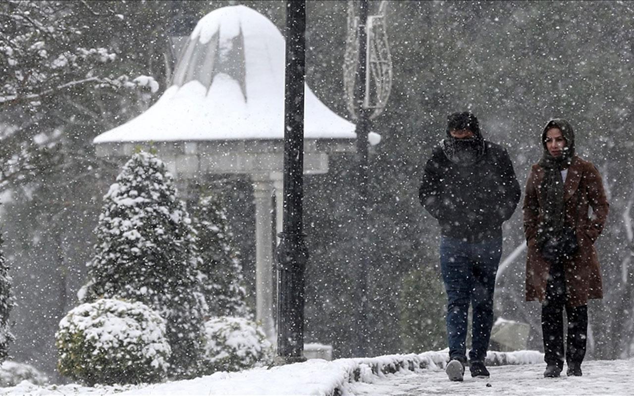Edirne kar başladı 15 günlük haritalı hava durumu raporu