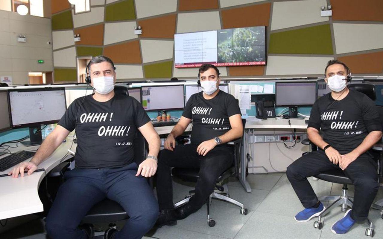 Mardin polisinden 'ohh ohh' yazılı tişörtlerle terörle mücadelede kararlılık mesajı
