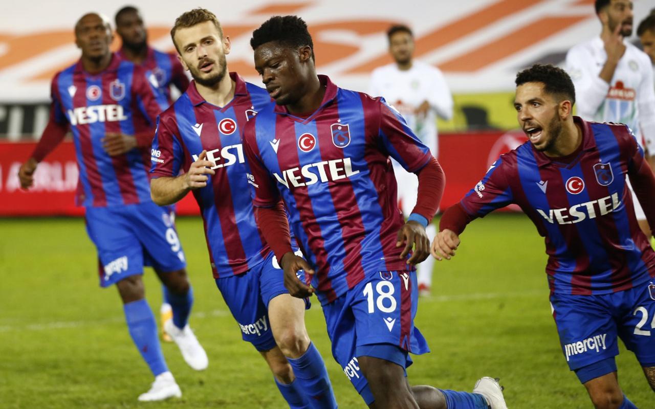 Trabzonspor'da hedef üst sıralar