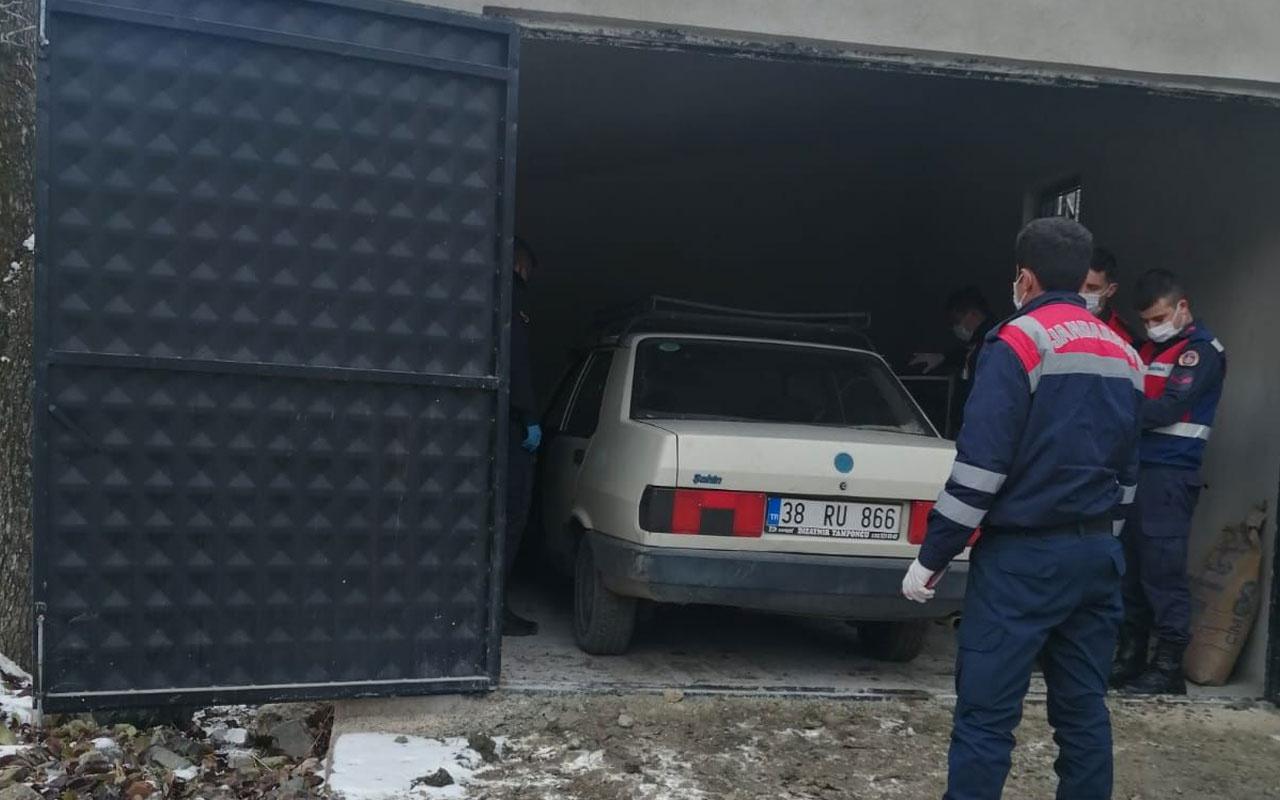 Kayseri'de çiftçi komşusunun garajında ölü bulundu