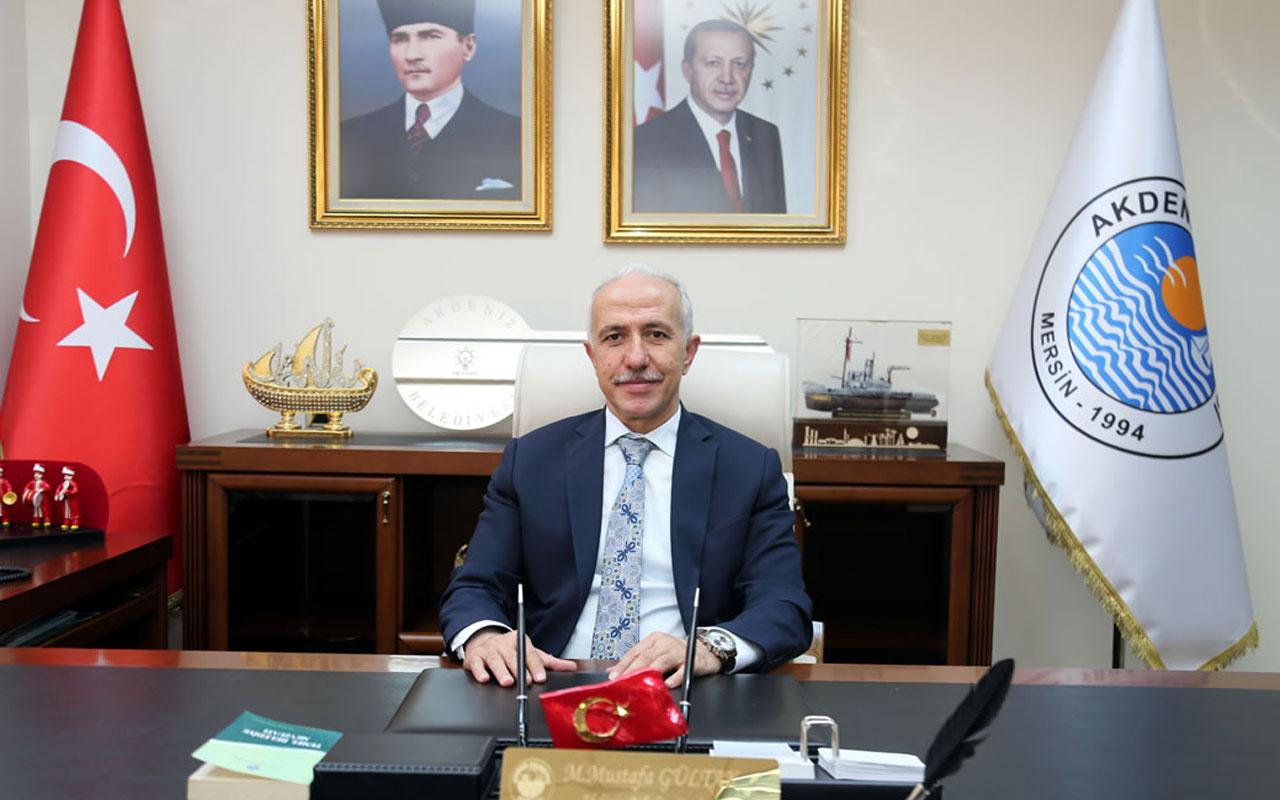 Mersin'in Akdeniz Belediye Başkanı Mustafa Gültak koronavirüse yakalandı