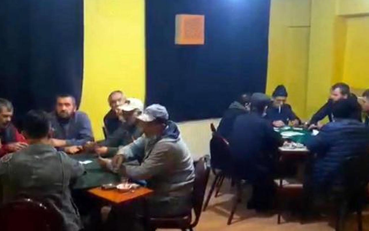 Tekirdağ'da eski derken binasına kumar operasyonu: 78 bin 750 lira para cezası uygulandı
