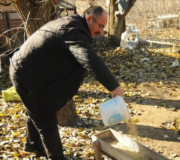 Kayseri'de bir yıl önce hobi olarak kaz aldı yılbaşı arefesi paraya para demiyor