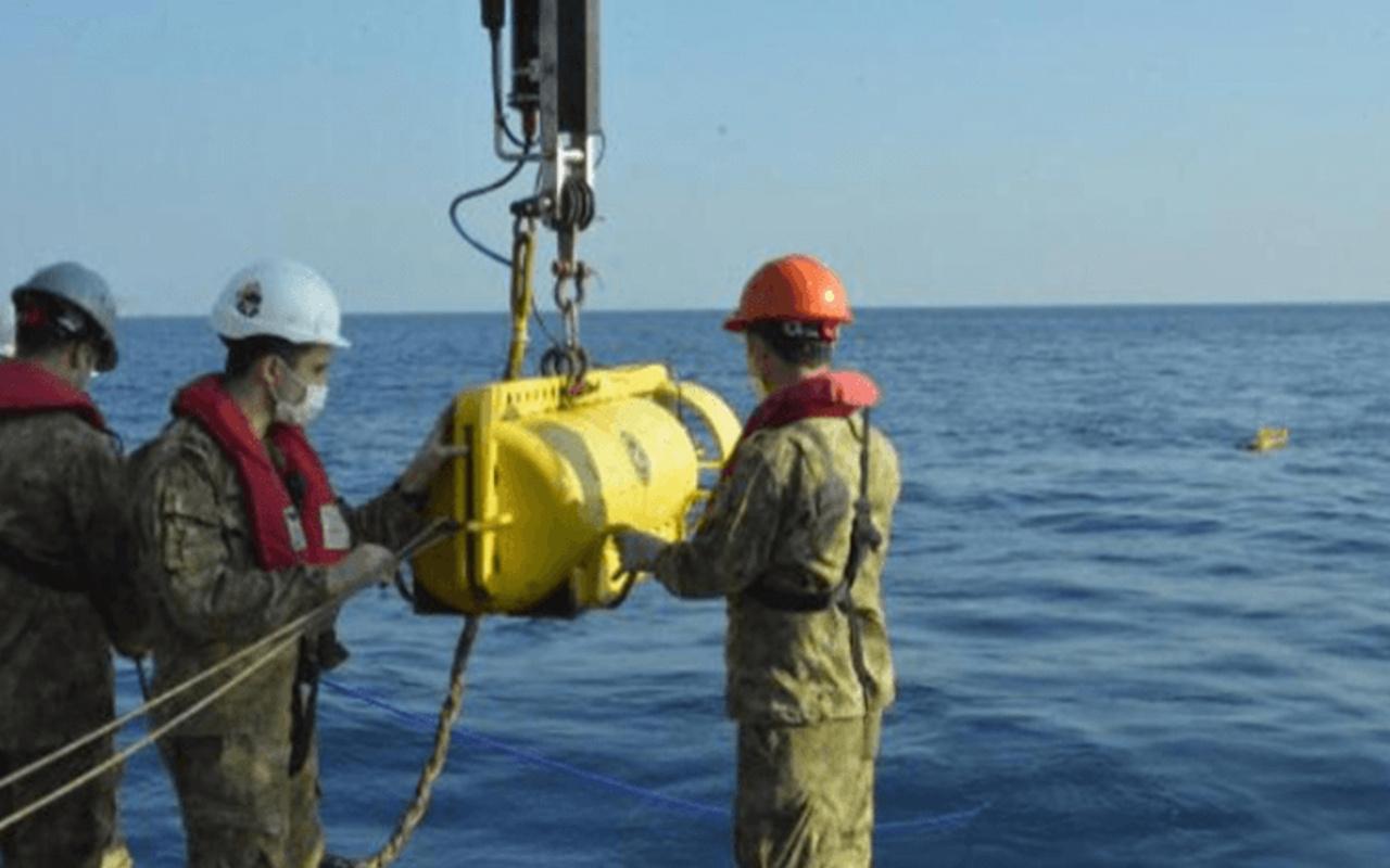 MSB duyurdu D. Akdeniz'de Cumhuriyet tarihinin en derin sonar görüntüleme operasyonu