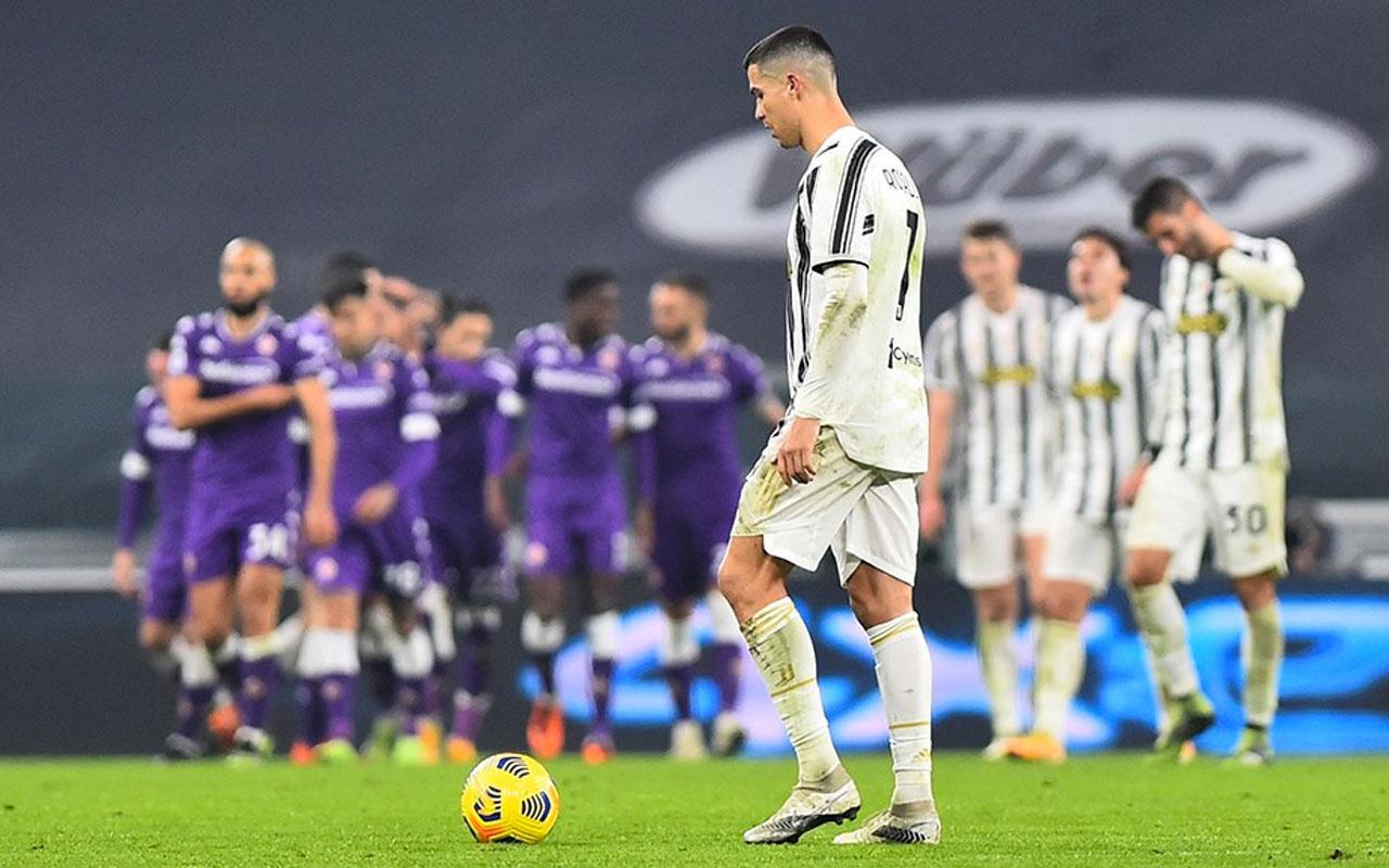 Ronaldo'lu Juventus'a Fiorentina'dan ağır darbe