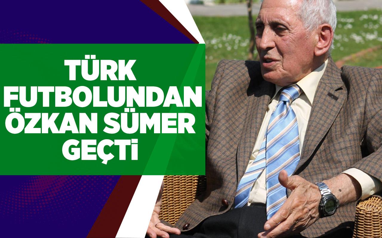Türk futbolundan Özkan Sümer geçti!