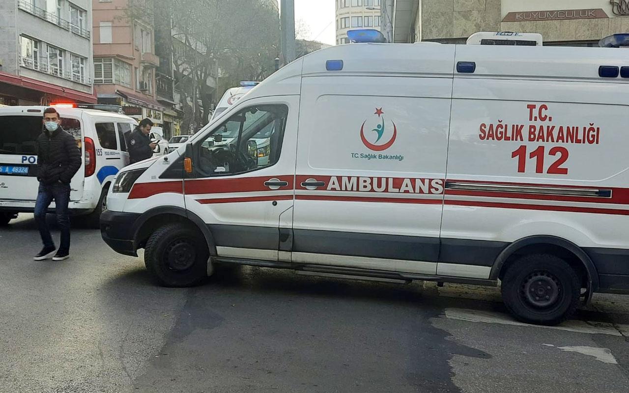 Ankara'da kuyumcu iş yerinde ölü bulundu