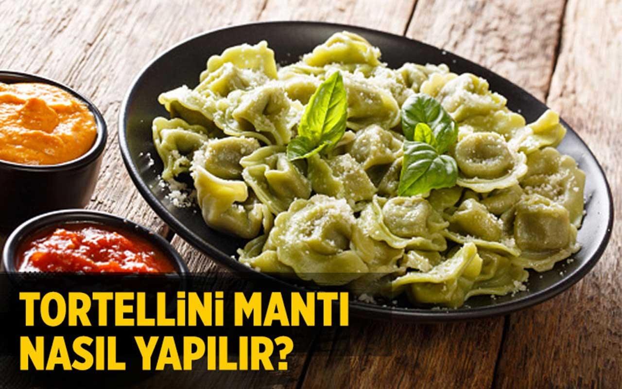 Tortellini mantı nasıl yapılır bu lezzete bayılacaksınız!