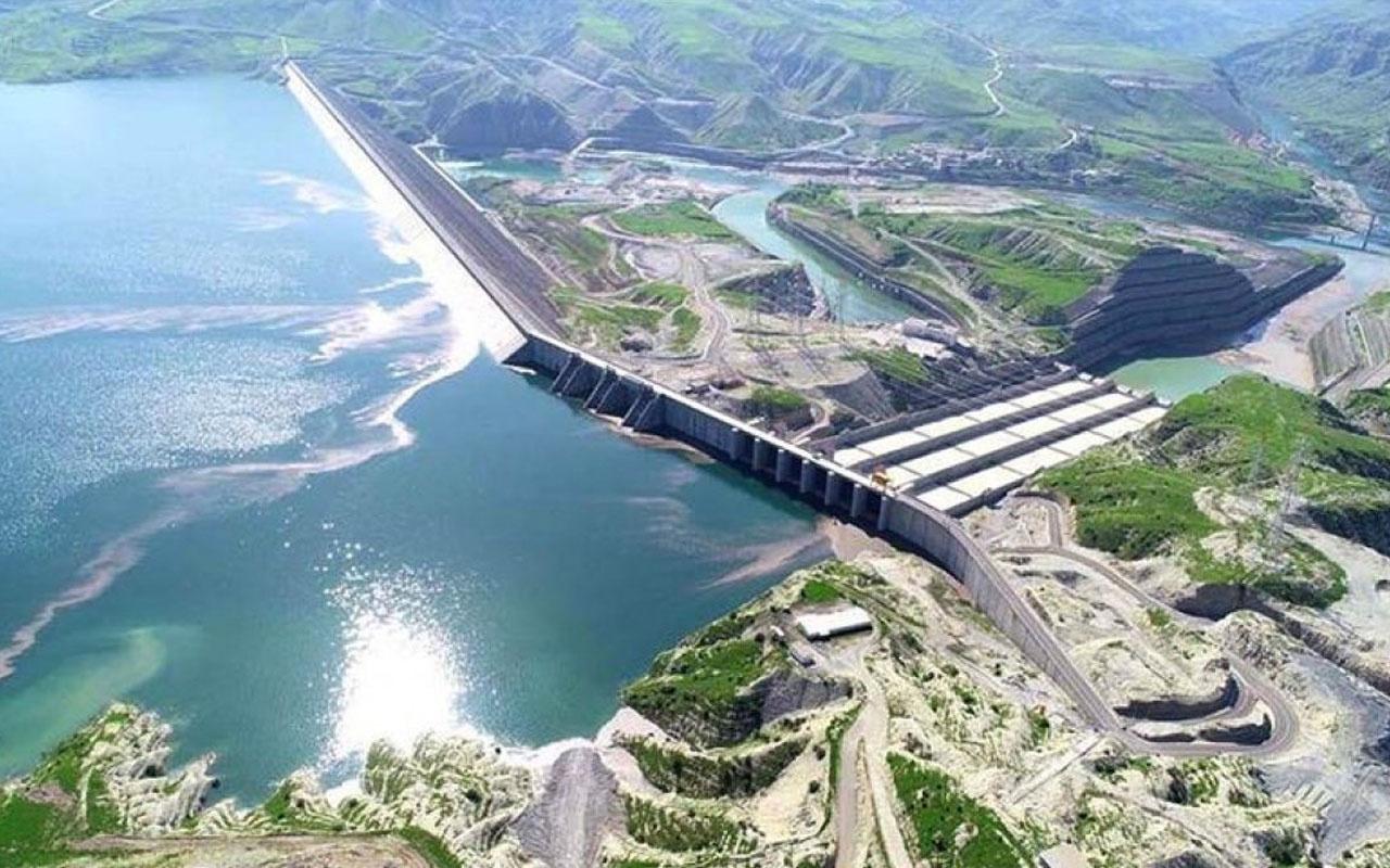 lısu Barajı'nda tam kapasiteyle elektrik üretimi başladı
