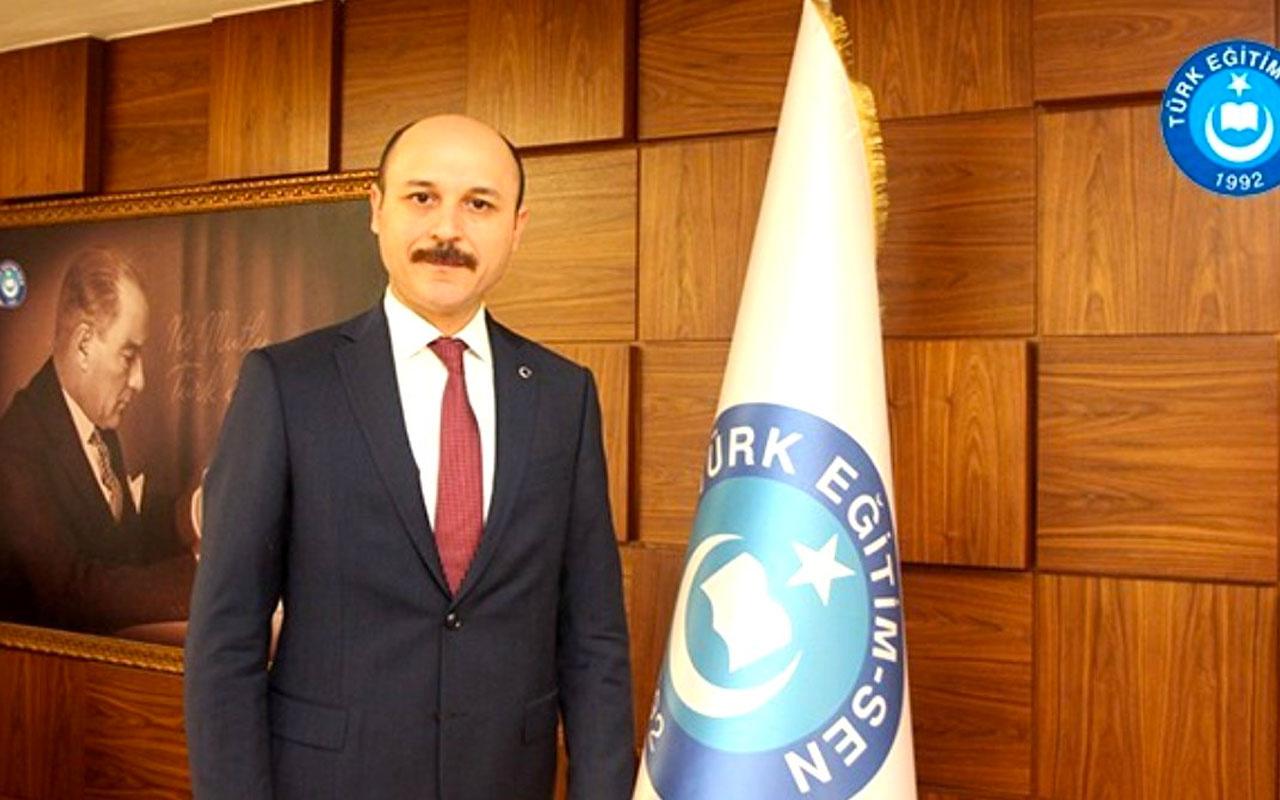 Türk Eğitim-Sen Genel Başkanı Geylan: Öğretmenler çağrı merkezinde görevlendirilemez