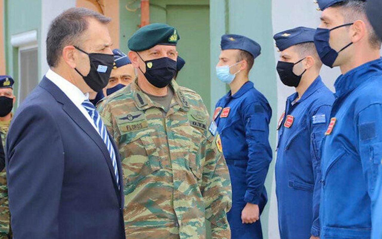 Yunanistan'dan yeni provokasyon: Genelkurmay Başkanı gayri askeri statüdeki adaları ziyaret etti