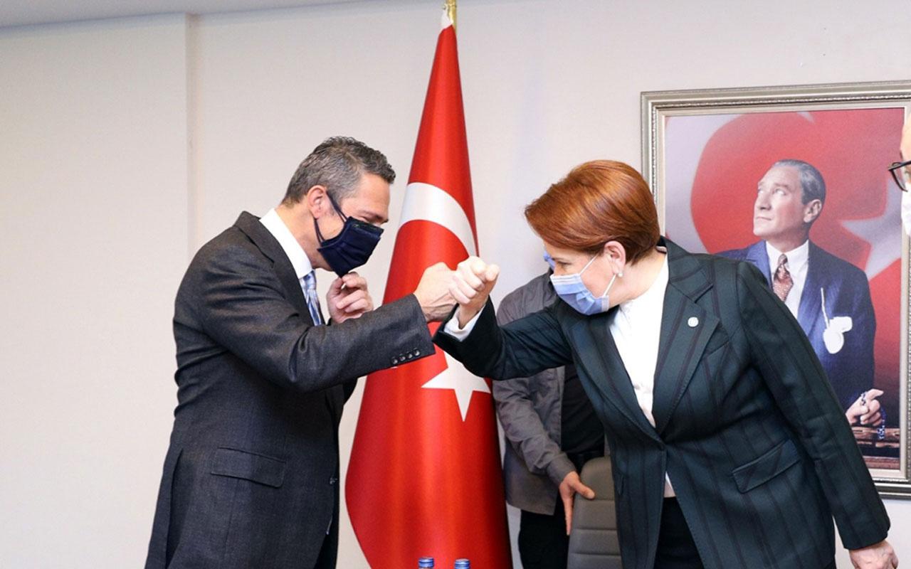 İYİ Parti Genel Başkanı Meral Akşener, Fenerbahçe Kulübü Başkanı Koç'u kabul etti