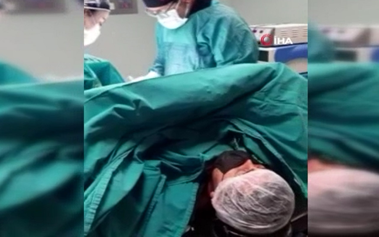 Manisa'da ameliyat sırasında 'Gesi Bağları' türküsünü söyledi