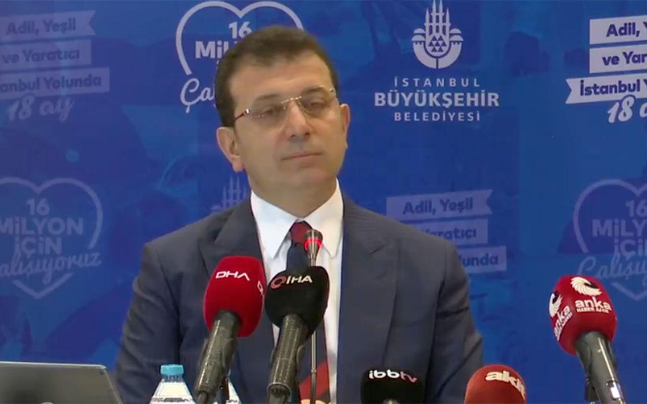 Ekrem İmamoğlu'ndan canlı yayında sansür! Akit muhabirini 'gazete değilsiniz' diye susturdu