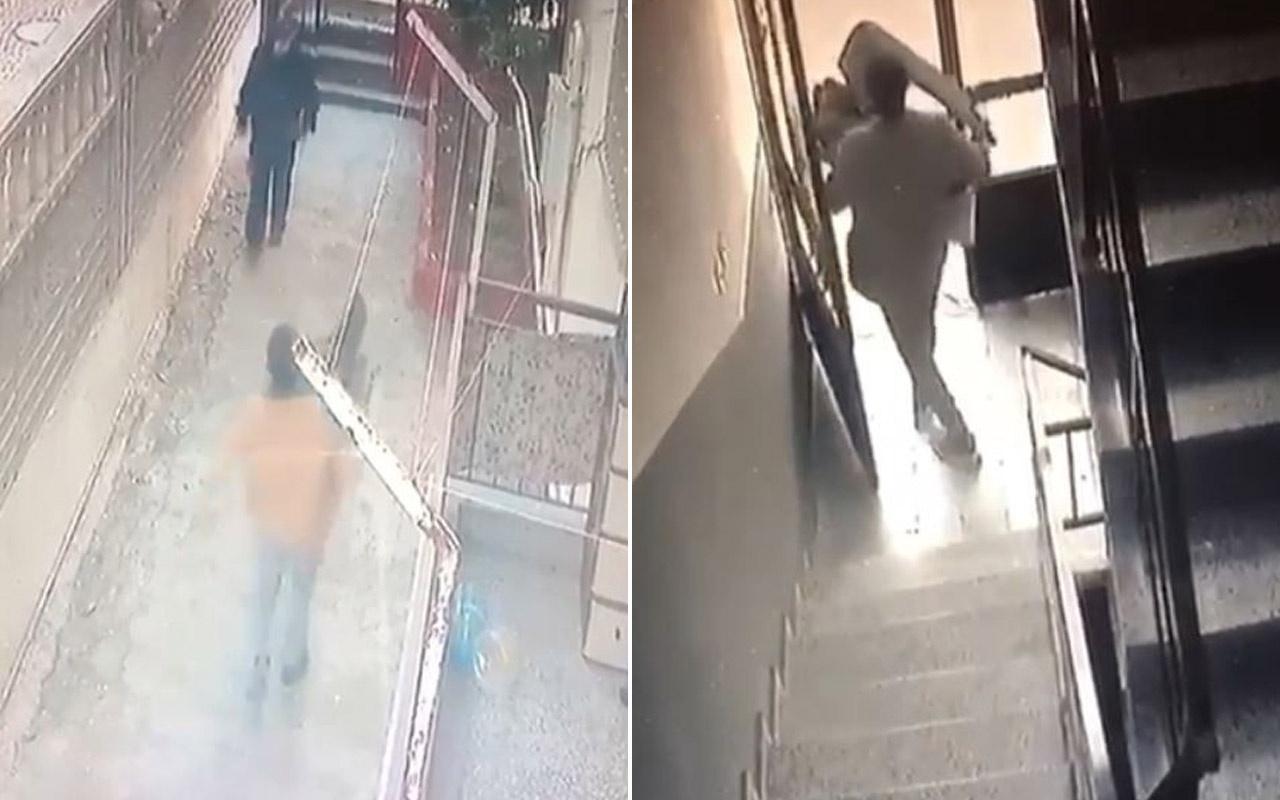 Depodan eşya çalan hırsız yöneticiye selam verdi Antalya'da ilginç anlar kamerada