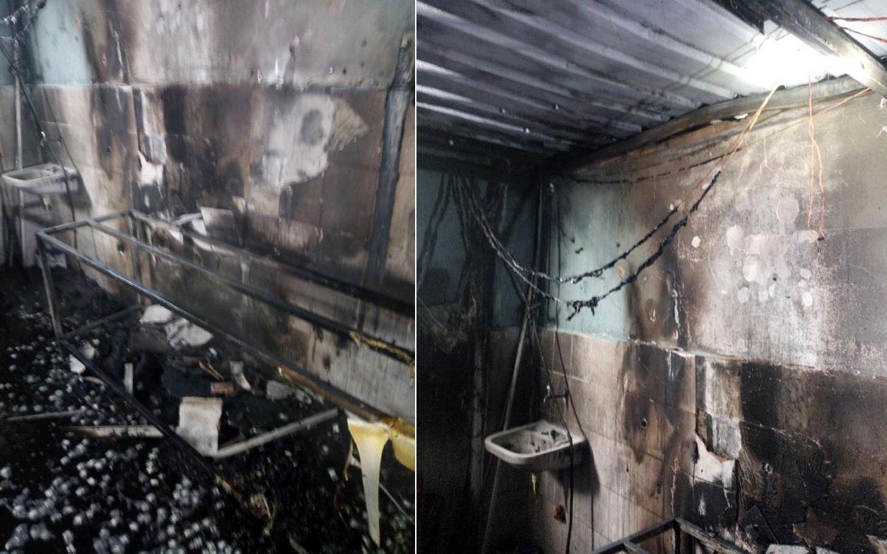Kayserispor Başkanı Berna Gözbaşı'nın fabrikasında yangın