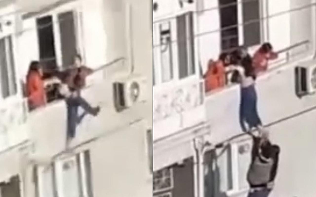 Bursa'da genç kız sinir krizi geçirdi! Babası son anda kurtardı
