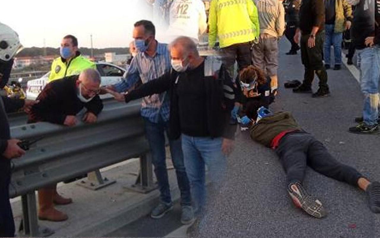 Antalya'da intihara kalkışan kadın 2 kişinin ölümüne sebep oluyordu