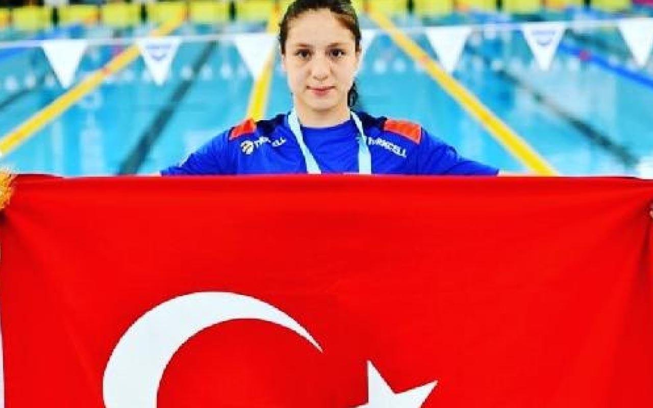 Milli yüzücü Merve Tuncel'den bir başarı daha: Olimpiyat A barajını geçti