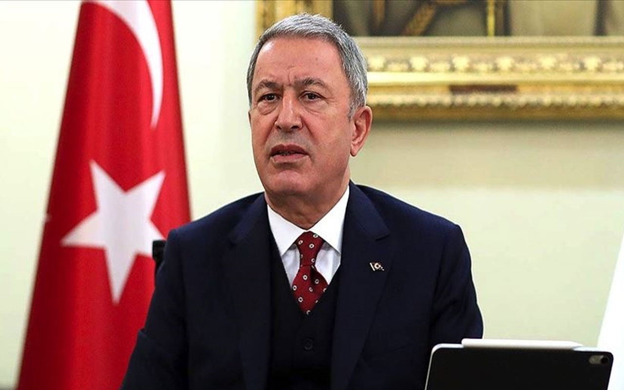 Bakan Akar duyurdu: Bir general 35 subay Azerbaycan'da!
