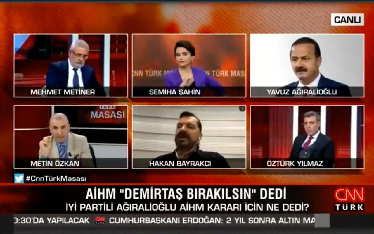 CNN Türk'te gergin anlar! 'Hakan Bayrakçı'yı susturun' dedi stüdyoyu terketti
