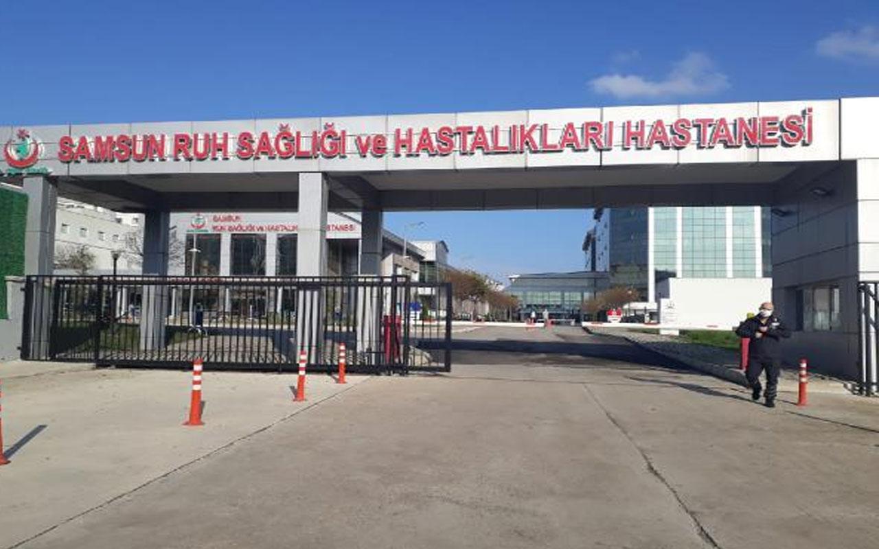 Samsun'daki dehşet! Şizofreni hastasını yastıkla boğan kadın tutuklandı