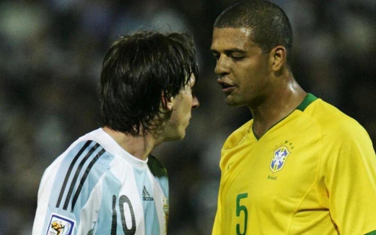Felipe Melo'dan Lionel Messi itirafı: Birçok kez tekmelemek zorunda kaldık