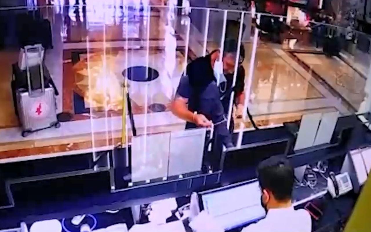 Uluslararası uyuşturucu kartelinin İngiliz üyesinin İstanbul'dan kaçış görüntüleri