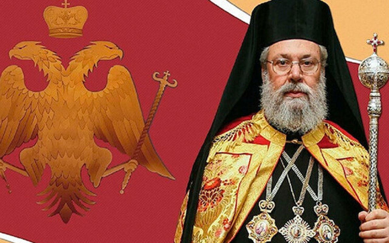 Güney Kıbrıs Rum Yönetimi Başpiskopos'u Erdoğan'a övgü o gerçek bir vatansever
