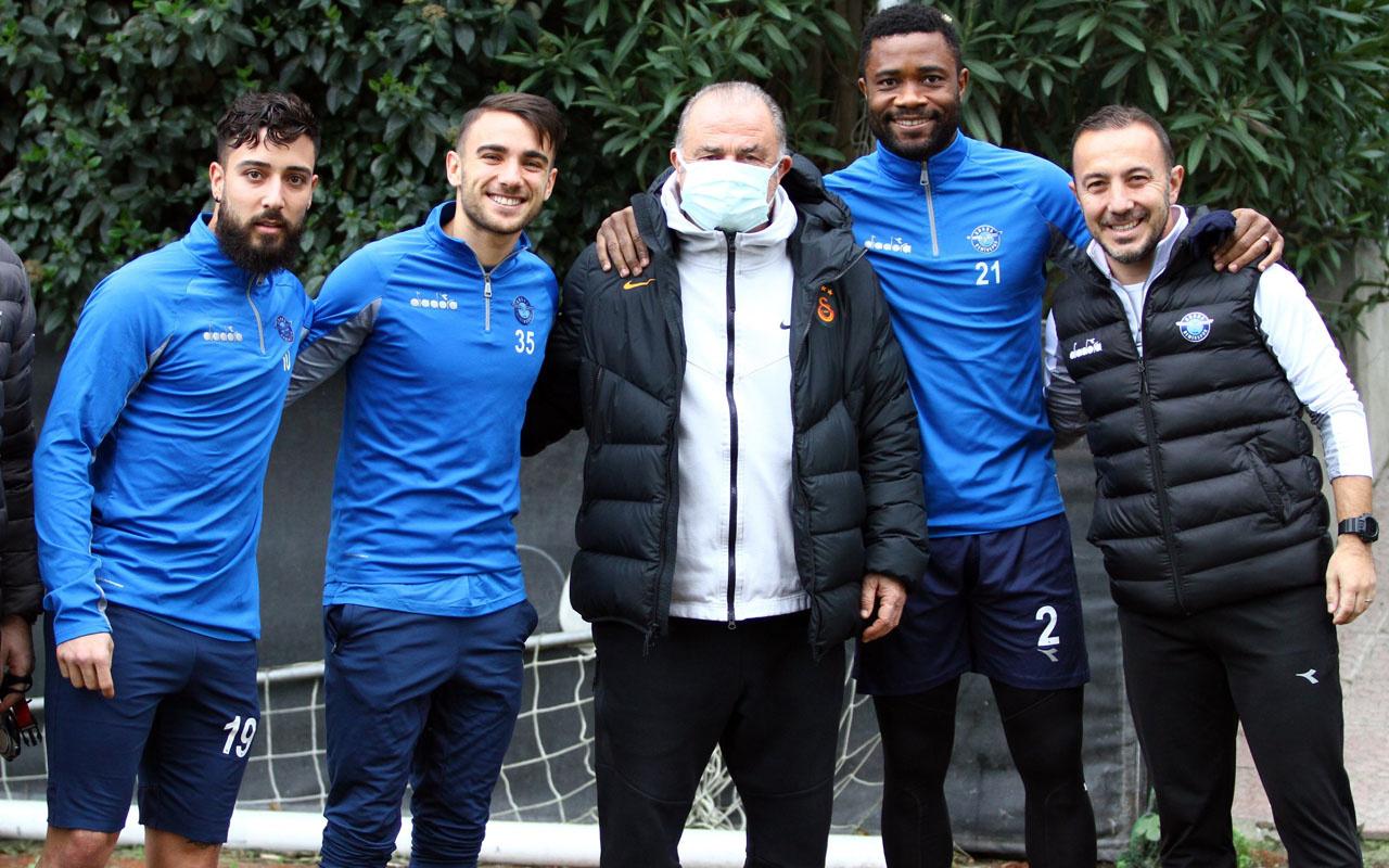 Fatih Terim'den Adana Demirspor'a ziyaret