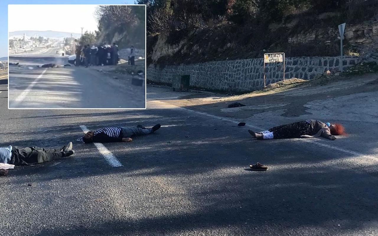 Yeni görüntüler dehşet verici! 5 kişini öldüğü Şanlıurfa'daki arazi kavgası
