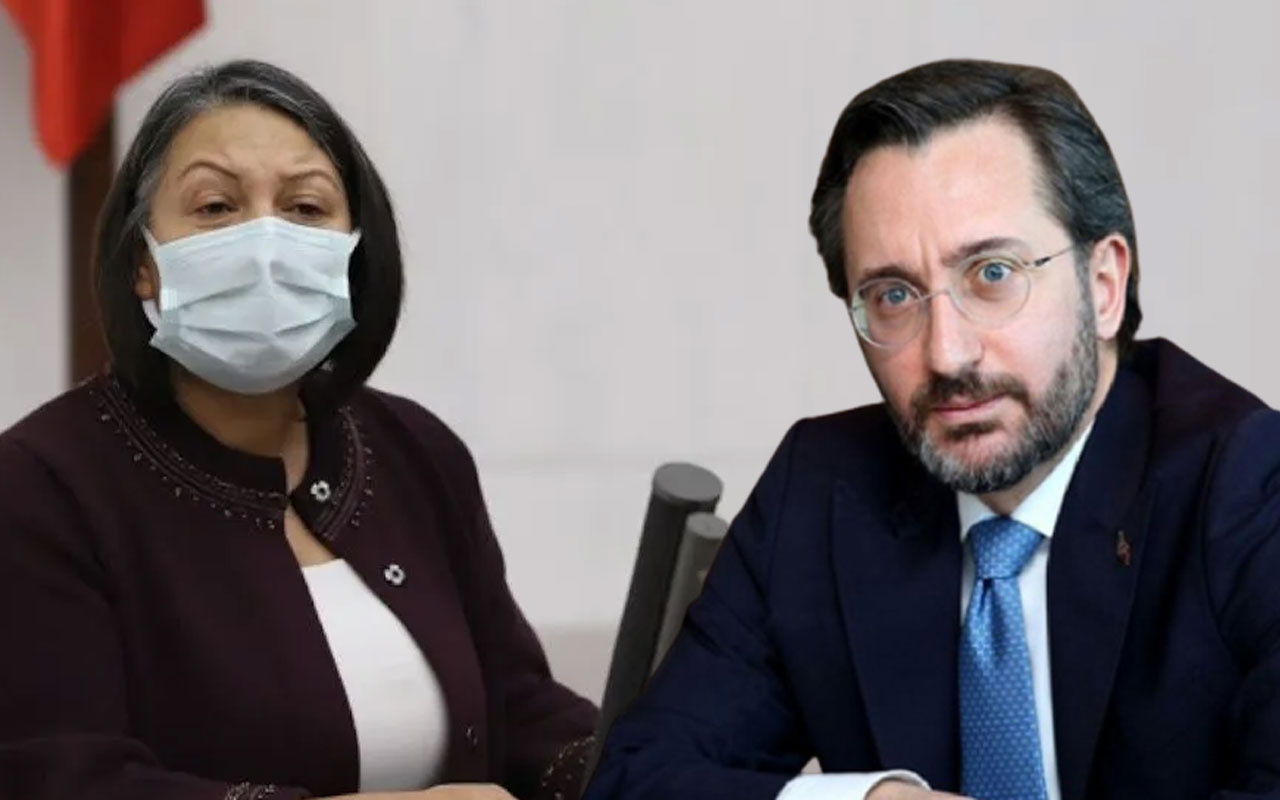 Fahrettin Altun ile HDP'li Vekil Dilşat Canbaz Kaya arasında 'Olay TV' tartışması