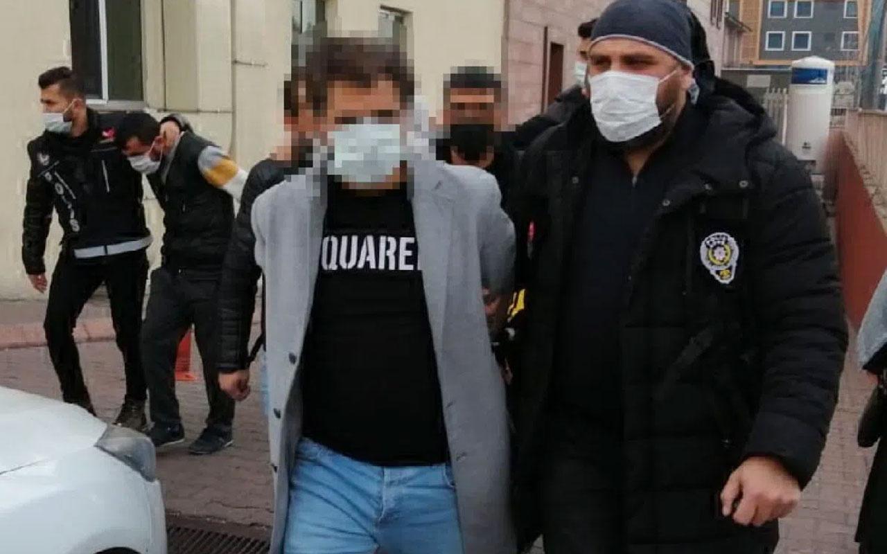 Kayseri'de uyuşturucu operasyonu metamfetamin ele geçirildi 6 kişi gözaltında