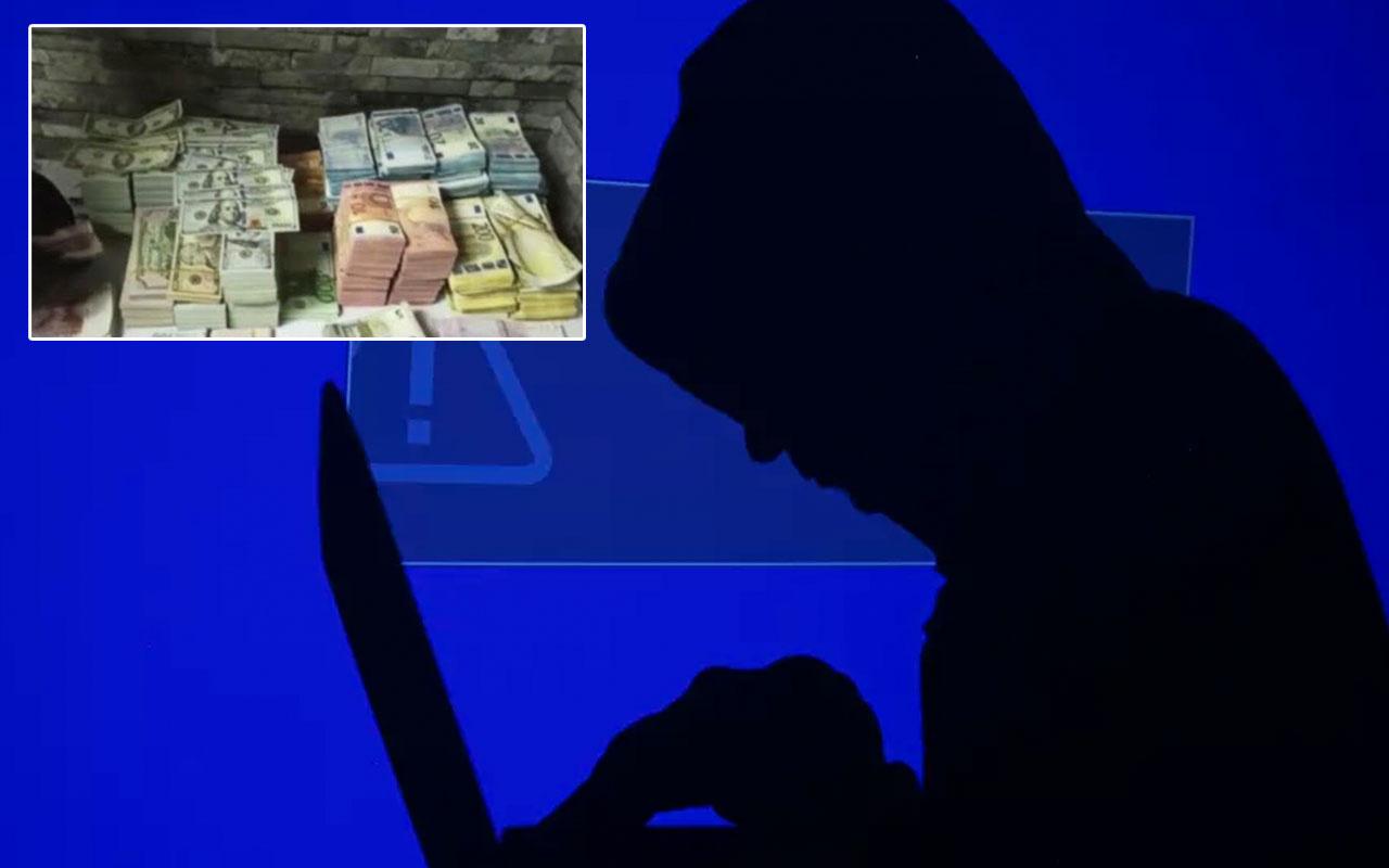 Suriyeli hacker şebekesi çökertildi ele geçirilen 30 milyon TL'yi korkudan kimse sahiplenmedi