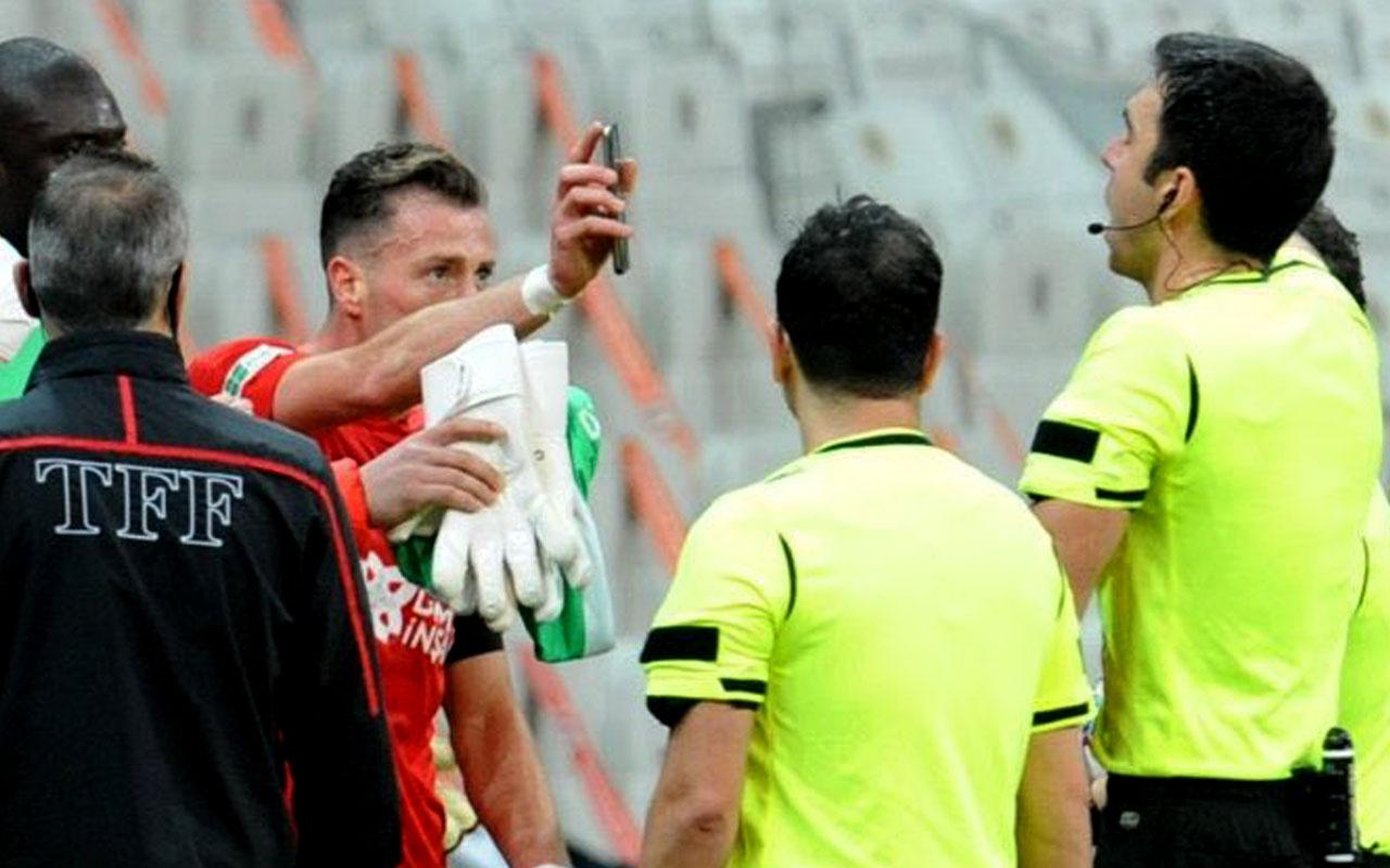 Beşiktaş'ın iptal edilmeyen golünü içine sindiremeyen tek isim