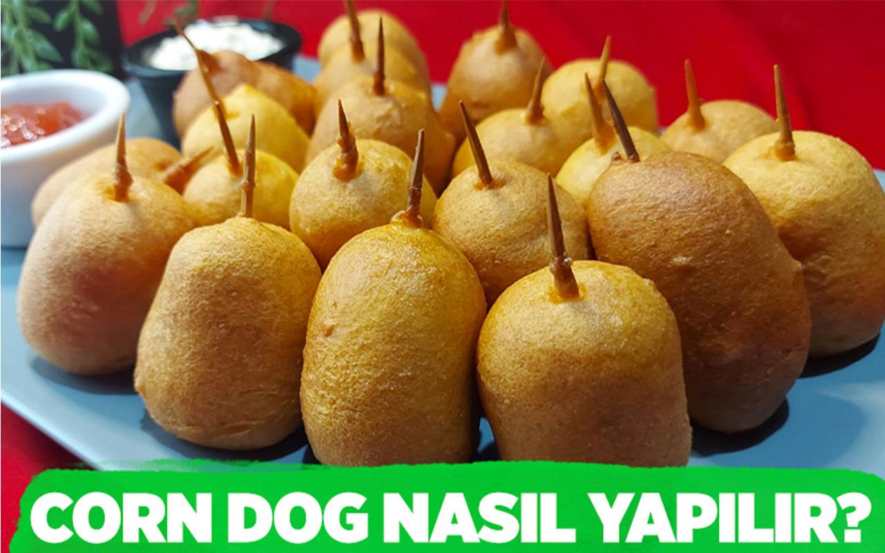 Corn Dog nasıl yapılır farklı lezzet arayanlar bayılacak!