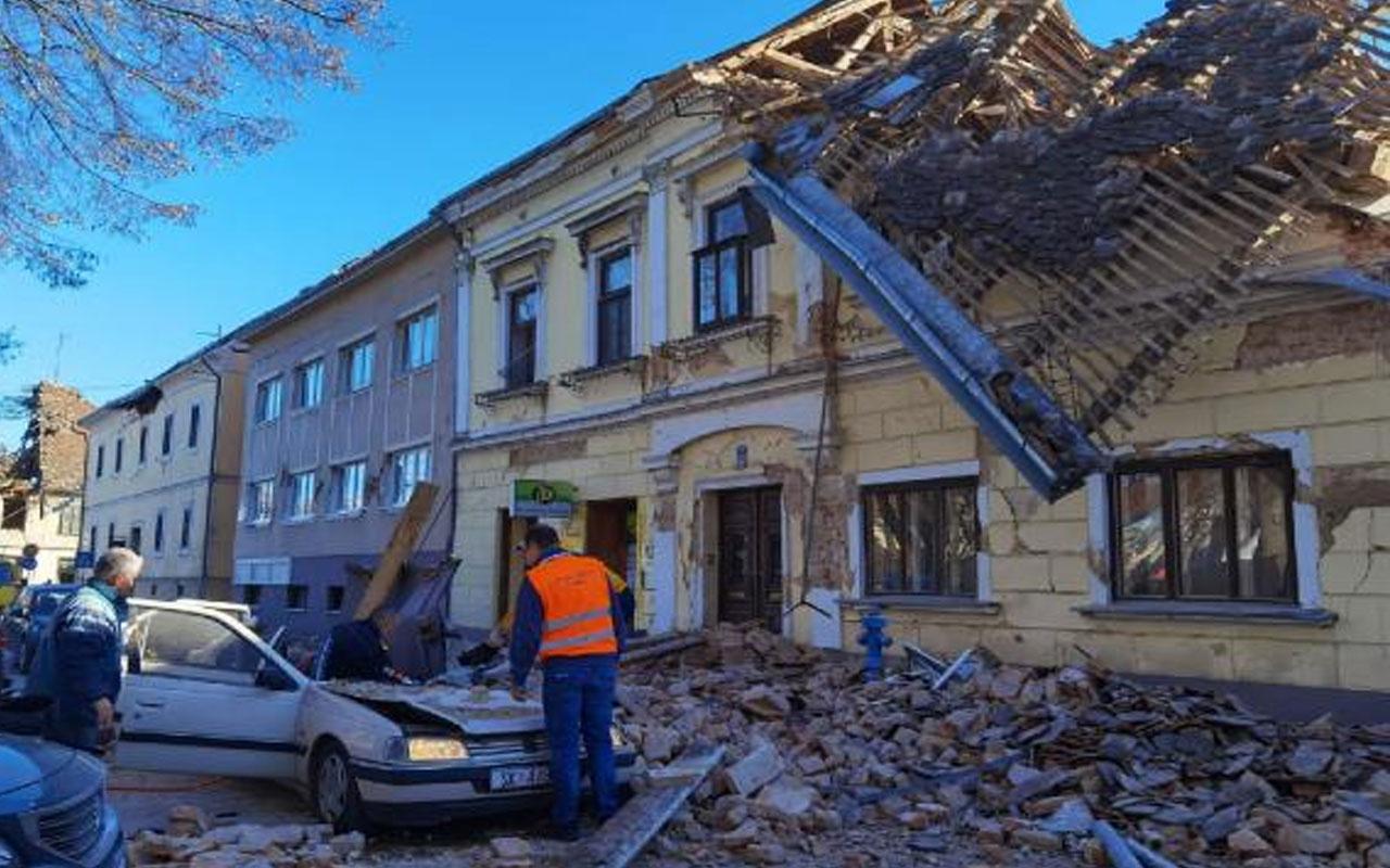 Büyük panik! Hırvatistan'da 6,3 büyüklüğünde deprem meydana geldi