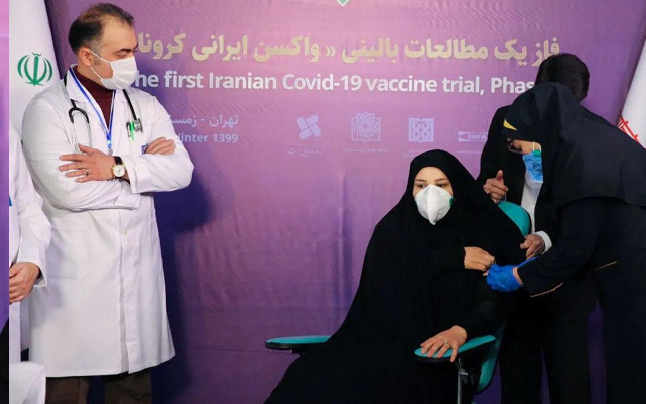 """İran """"COVIRAN Bereket"""" aşısında insan denemelerine geçti"""