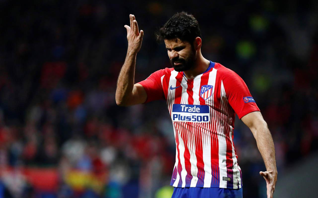 Diego Costa Atletico Madrid defterini kapattı! Sözleşmesi feshedildi