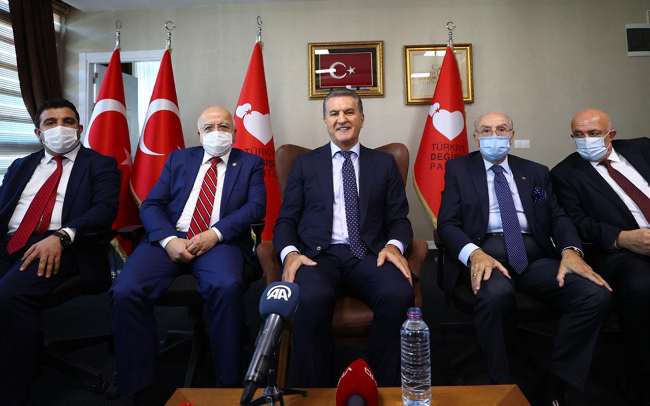 Türkiye Değişim Partisi'nde görev dağılımı belli oldu