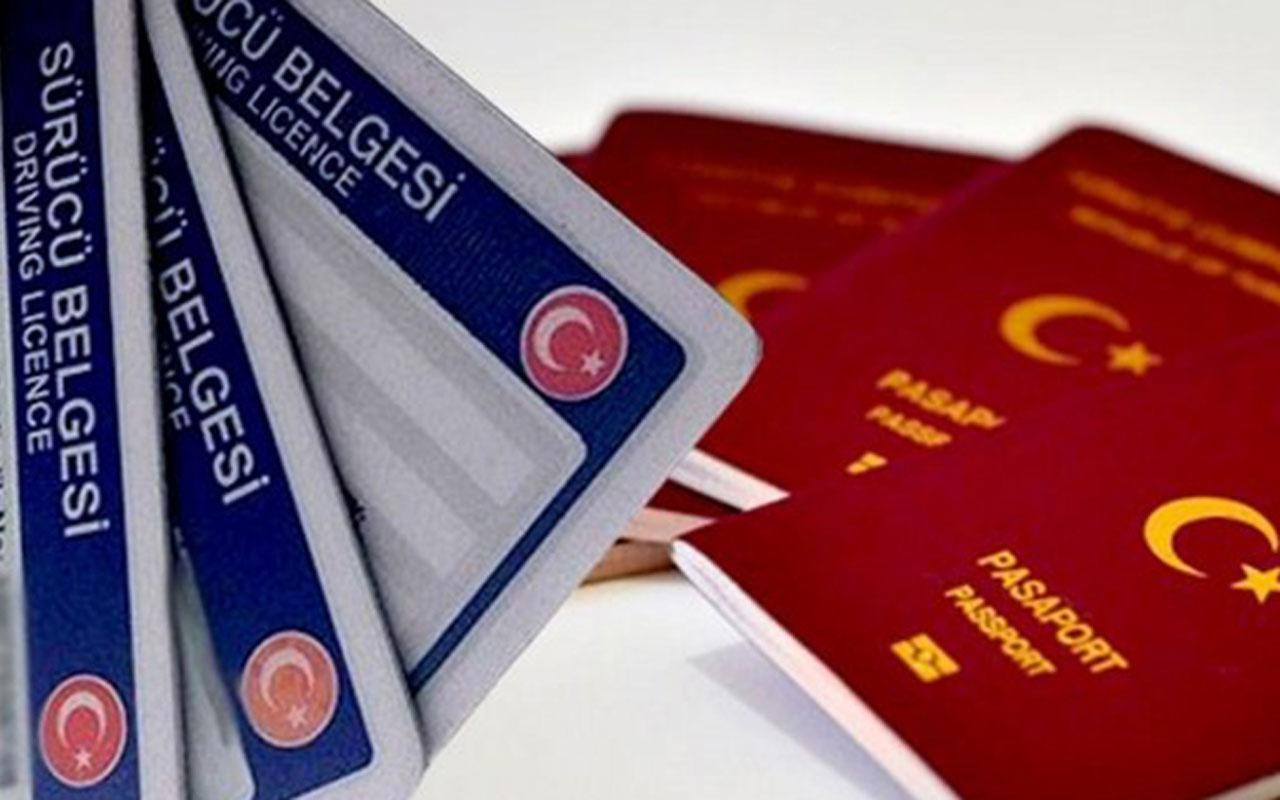 Pasaport ve sürücü belgesi harçları da zamlanıyor! İşte yeni ücretler