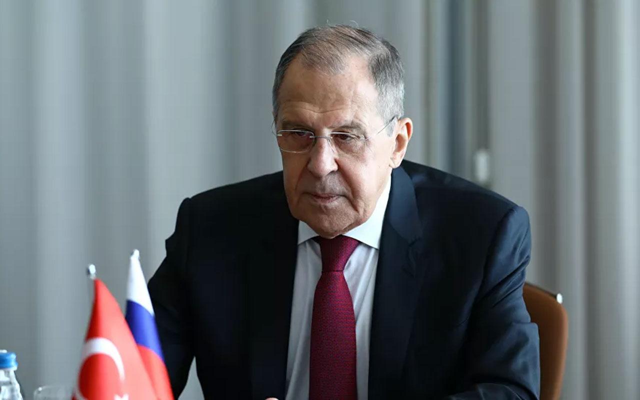 Sergey Lavrov: Türkiye ile askeri-teknik işbirliğimizi sürdüreceğiz