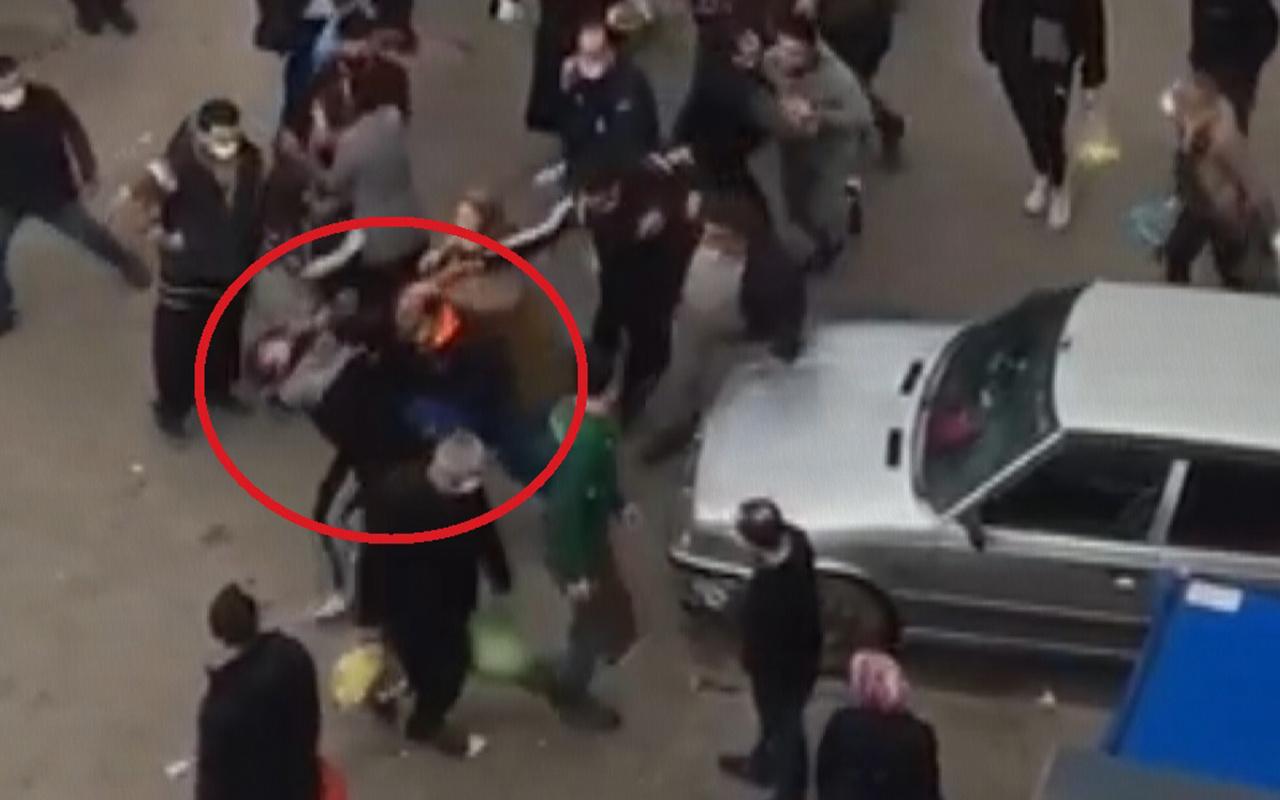 Bursa Osmangazi'de genç kadın pazar yerinde darp edildi