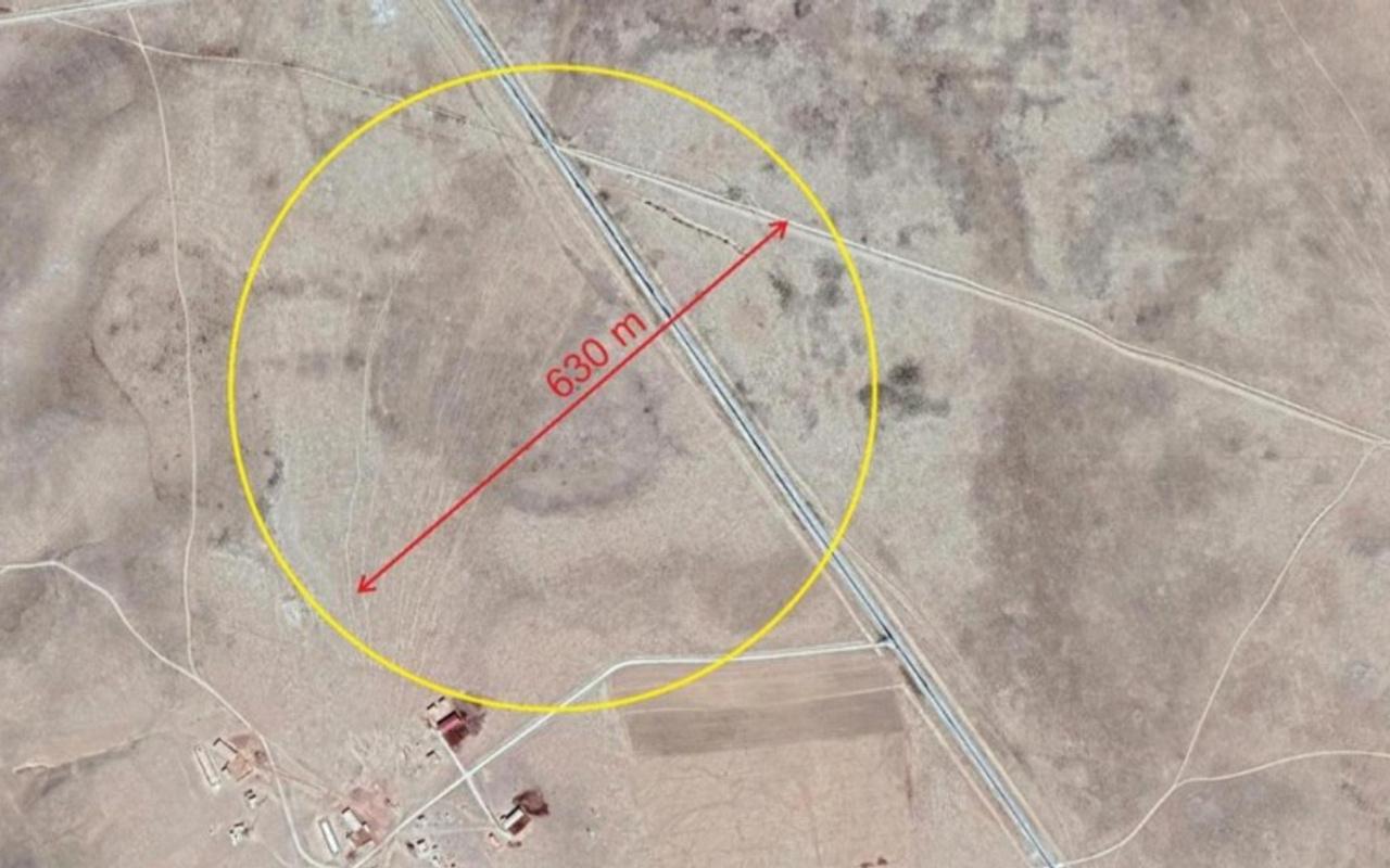 Konya'da uydu görüntülerinden tespit edilen obruklar sonrası yol güzergahı değişiyor
