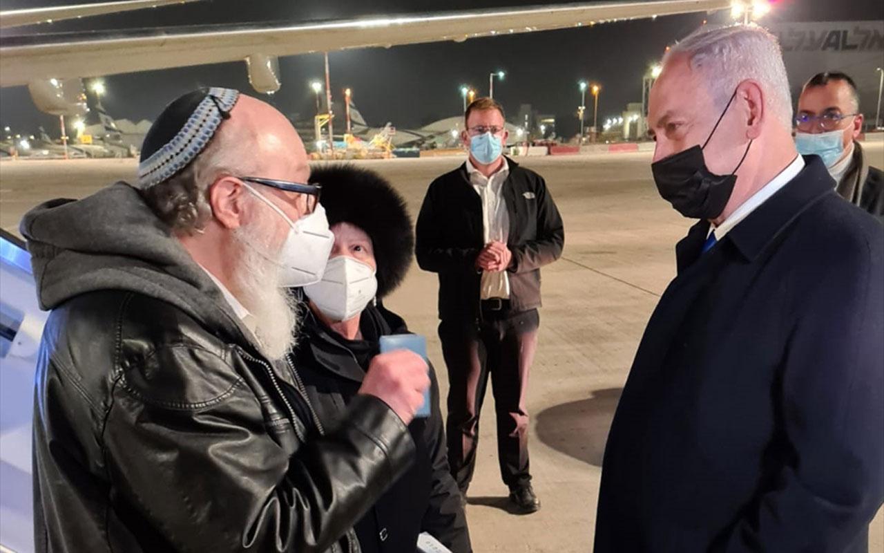 ABD'deki tutuklu İsrail ajanı 35 yıl sonra İsrail'e geldi