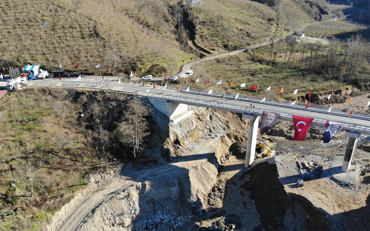 Bakan Adil Karaismailoğlu Altı Şehitler Köprüsü'nün açılışını gerçekleştirdi