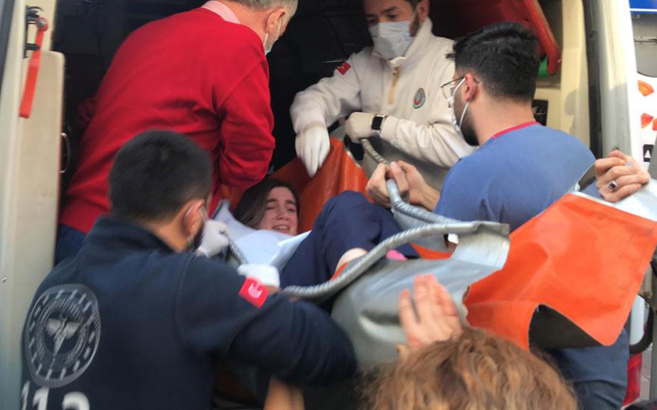 Şişli'de sağlık merkezinde rehin alınan hemşire kurtarıldı