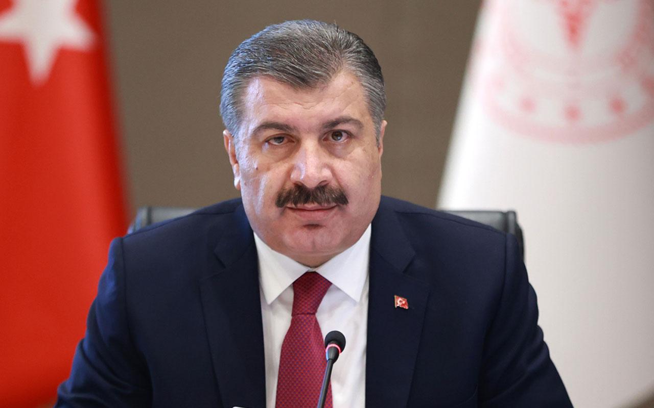 Sağlık Bakanı Fahrettin Koca'dan Kovid-19 aşısının aracı firma vasıtasıyla alındığı iddialarına ilişkin açıklama