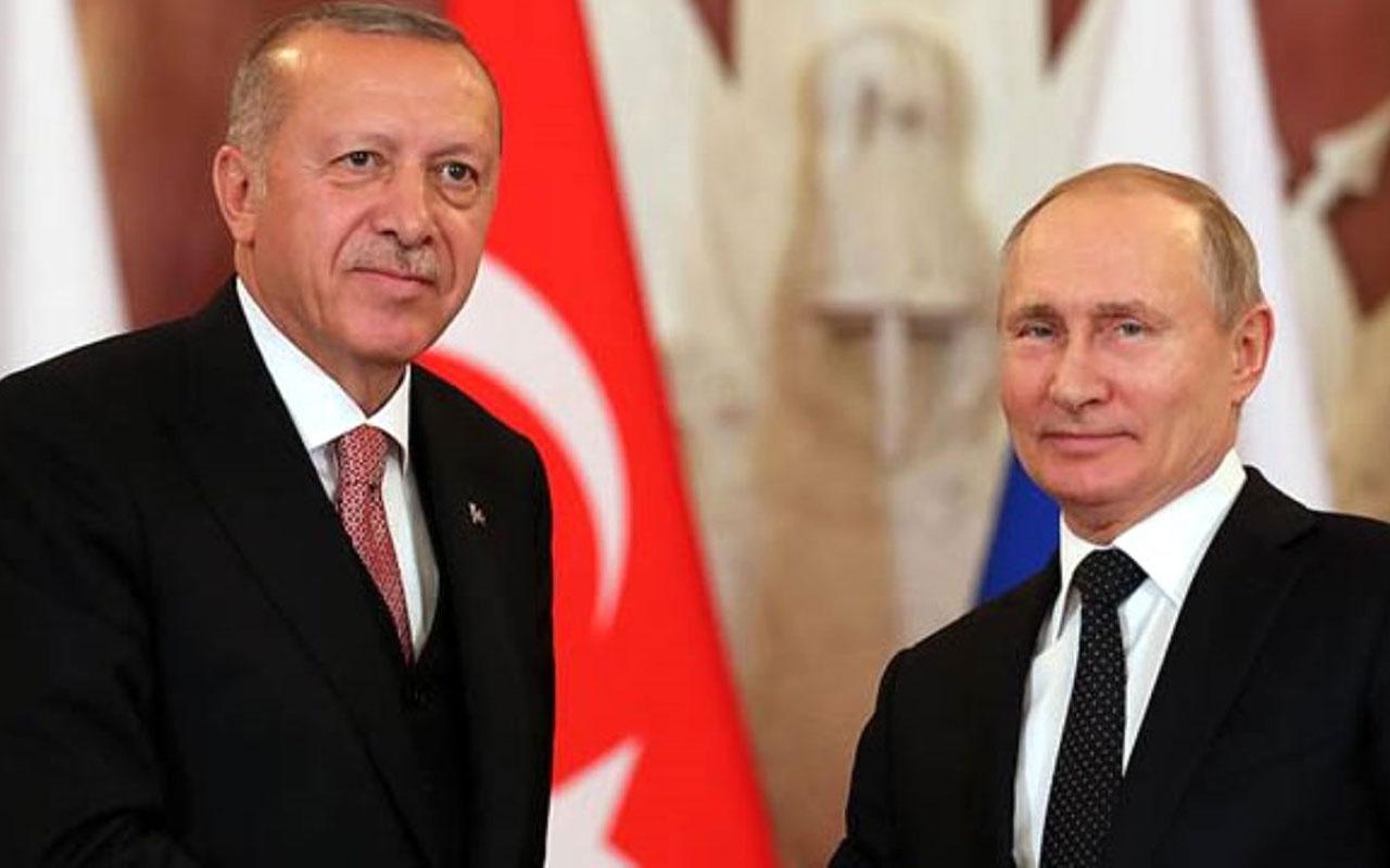 Putin'den Erdoğan'a yılbaşı tebriği! Türk-Rus işbirliğine ilişkin önemli mesajlar verdi