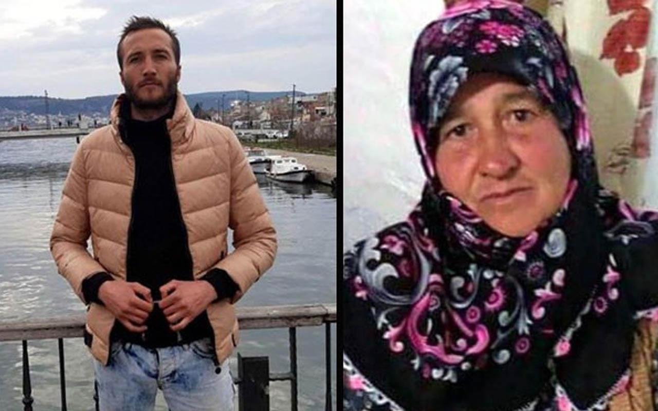 Edirne'de annesinin soluk borusunu döner bıçağıyla kesti! Cesedi sevgilisine taşıttı